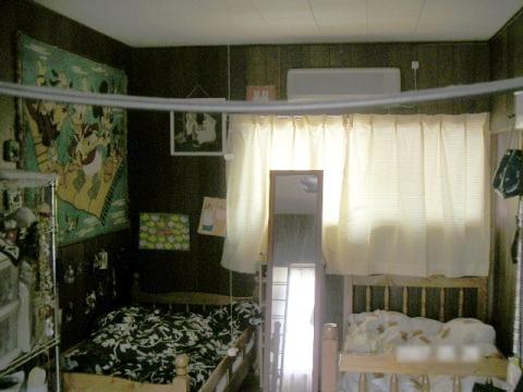 豊川市子ども室リフォーム前
