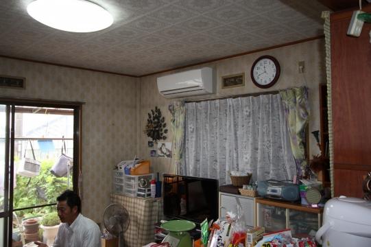 豊橋市キッチン・LDKリフォーム前