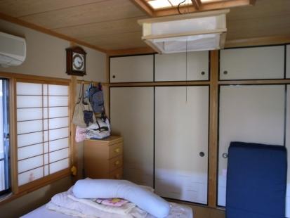 豊川市寝室リフォーム前