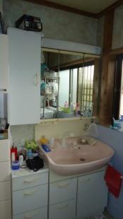 豊橋市 洗面・浴室 リフォーム前