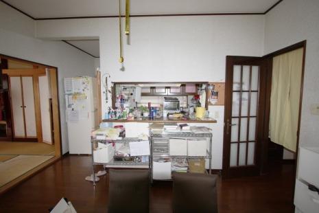 蒲郡市 キッチン・LDK リフォーム前