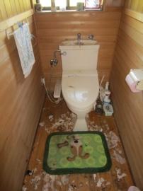 新城市 トイレ リフォーム前