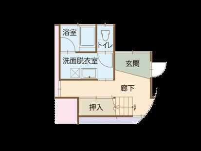 豊川市 間取り図 リフォーム前