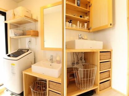 豊橋市 オリジナルデザイン洗面台