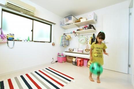 豊川市子ども室リフォーム後