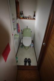 豊橋市トイレ前