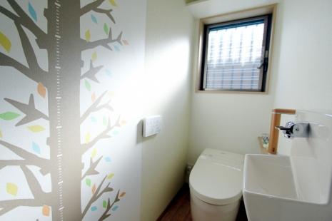 豊橋市リノベーション後トイレ