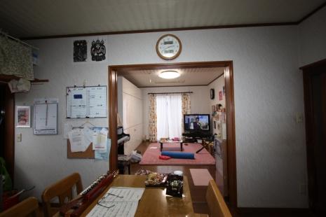 田原市リフォーム前DK
